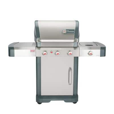 Avalon PTS+ 3.1 3-Burner Propane Gas Grill in Stainless Steel