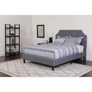 Light Gray Full Bed Set