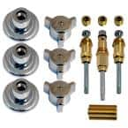Tub and Shower Rebuild Kit for Briggs 3-Handle Faucets