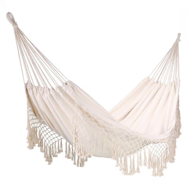 Barton Portable Outdoor Cotton Rope, Outdoor Bed Hammock