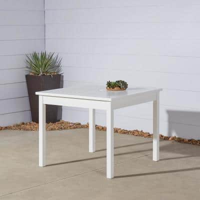 Bradley Square Wood Outdoor Dining Table