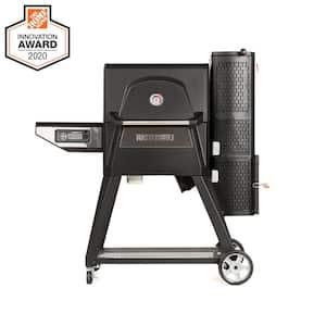 Gravity Series 560 Digital Charcoal Grill Plus Smoker in Black