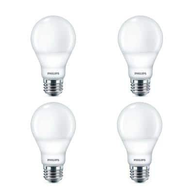 60-Watt Equivalent A19 Dimmable LED Light Bulb in Soft White (16-Pack)