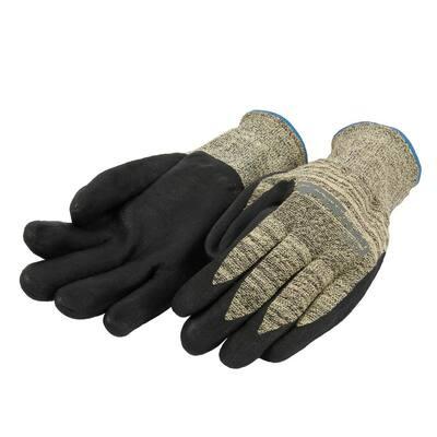 Size L/XL Nitrile Coated Cut 3 Resistant Gloves
