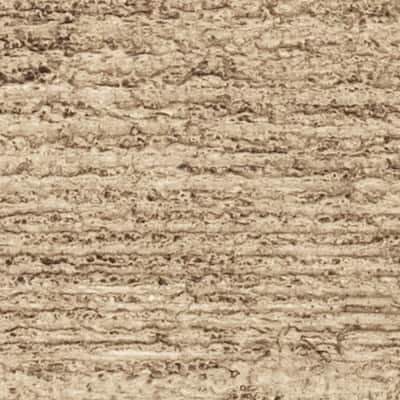SAMPLE - 6 in. x 6 in. Rough Sawn Natural Pine Endurathane Faux Wood Ceiling Beam Material