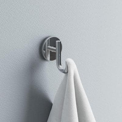 Lyndall Single Towel Hook in Chrome