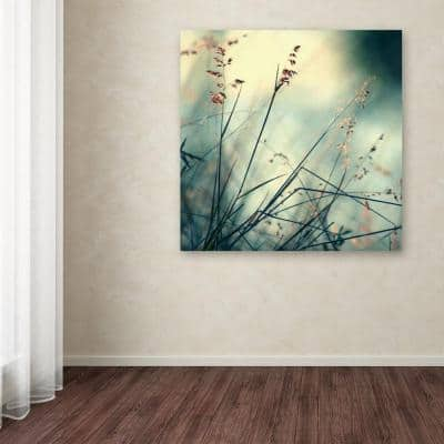 """35 in. x 35 in. """"About Hope"""" by Beata Czyzowska Young Printed Canvas Wall Art"""