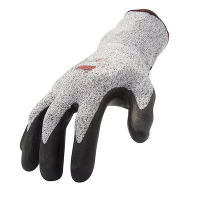 Foam Nitrile-dipped Cut Resistant Gloves (EN Level 3, ANSI A2), XX-Large, 12-Pair