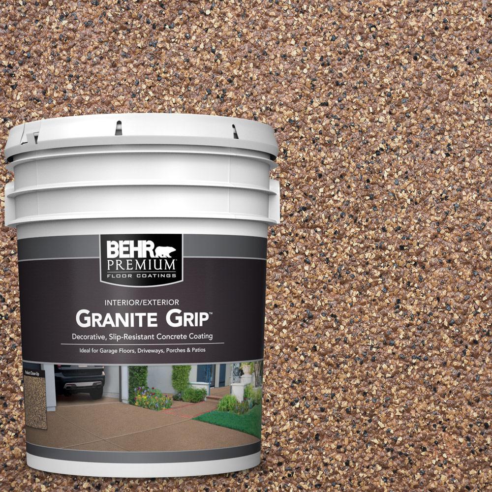 5 Gal. #GG-11 Sahara Canyon Decorative Flat Interior/Exterior Concrete Floor Coating