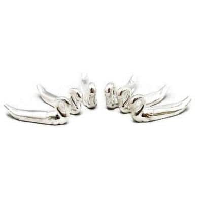 Silver Plated Swan Knife Rests (Set of 6)