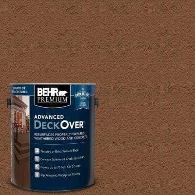 1 gal. #SC-152 Red Cedar Textured Solid Color Exterior Wood and Concrete Coating