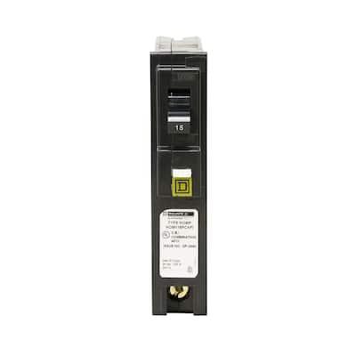 Homeline 15 Amp Single-Pole Plug-On Neutral Combination Arc Fault Circuit Breaker (12-pack)