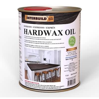 Dark Espresso Hardwax Wood Oil 1000 ml