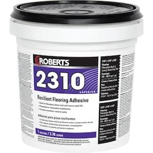2310 1 Gal. Resilient Flooring Adhesive for Fiberglass Sheet Goods and Luxury Vinyl Tile