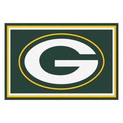 Green Bay Packers 5 ft. x 8 ft. Area Rug