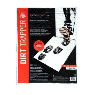32 in. x 26 in. Dirt Trapper Sticky Non-Skid Frame 30 Layer Mat