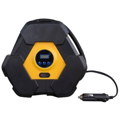 12-Volt Portable Automotive Digital Tire Inflator Pump