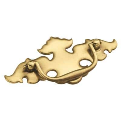 Manor House 3 in. Center-to-Center Lancaster Hand Polished Bail Pull