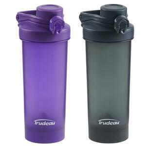 Promixer Charcoal/Plum Bottle (2-Pack)