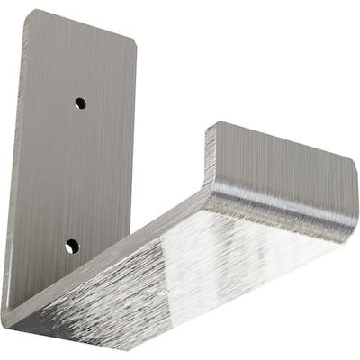 2 in. x 5 1/2 in. x 6 in. Unfinished Steel Hanging Shelf Bracket