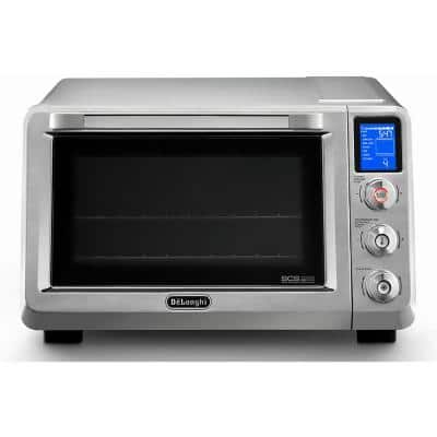 Livenza 2000 W 2-Slice Stainless Steel Convection Toaster Oven with Broiler