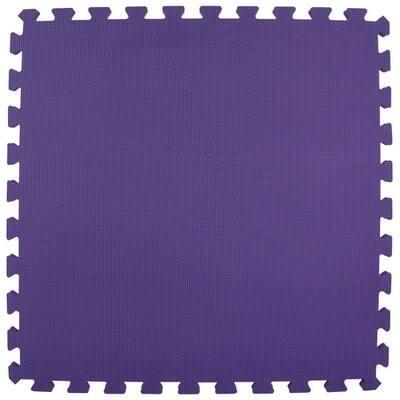 Premium Purple 24 in. x 24 in. x 5/8 in. Foam Interlocking Floor Mat (Case of 25)