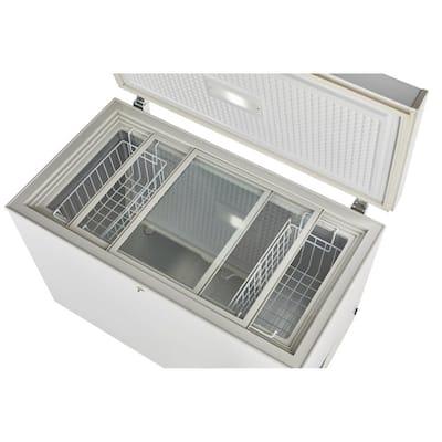 9.3 cu. ft. 265 l Solar DC Chest Freezer Danfoss/Secop Compressor in White