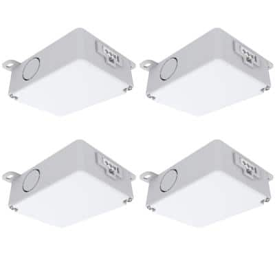 Under Cabinet Hard Wire Converter Box Replacement Master Switch (4-Pack)