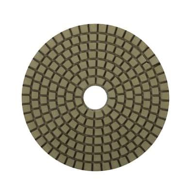 4 in. 3000 Grit Resin Wet Polishing Pad