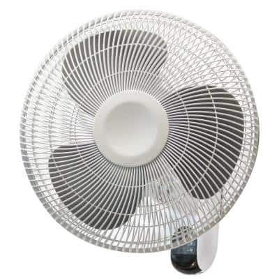 16 in. Indoor Wall Mount Fan With Remote