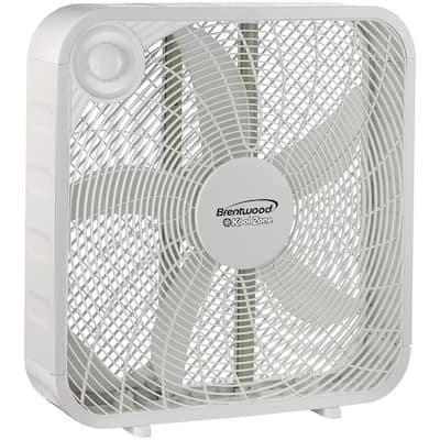 20 in. 3-Speed Box Fan