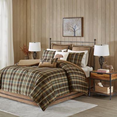 WR Hadley Plaid Comforter Set