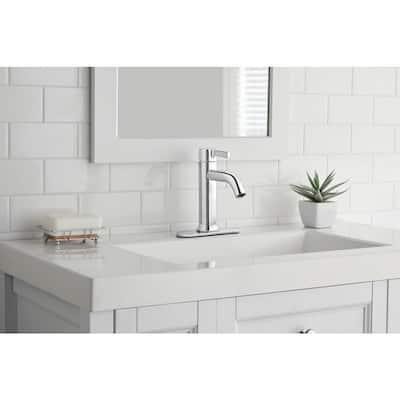 Ryden Single Hole Single-Handle Bathroom Faucet in Chrome