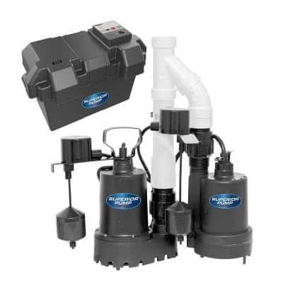 Pre-Assembled Emergency Backup Sump Pump System