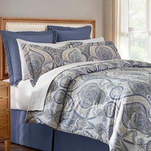 Kayden 6-Piece Damask Full/Queen Comforter Set