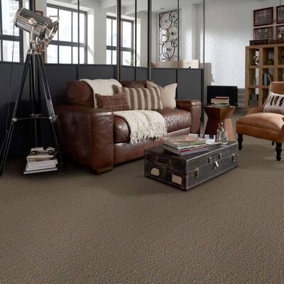 Isla Vista - Color Bird's Nest Indoor/Outdoor Berber Brown Carpet