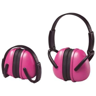239 Foldable Ear Muff NRR 23 dB in Pink
