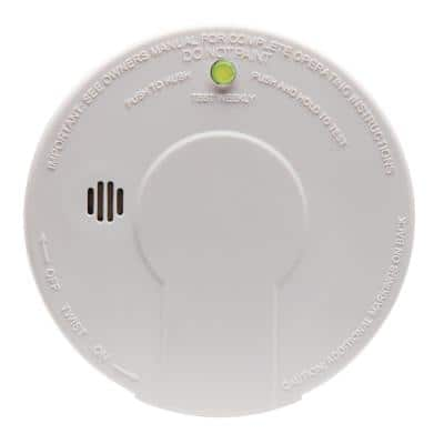 Firex Hardwired Smoke Detector with Photoelectric Sensor and 9-Volt Battery Backup