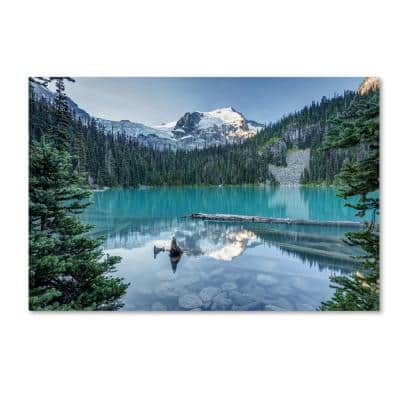 22 in. x 32 in. Natural Beautiful British Columbia by Pierre Leclerc Canvas Wall Art Print