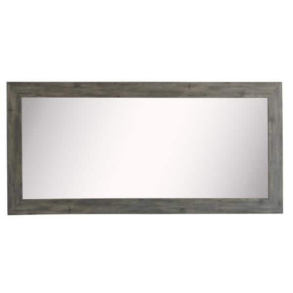 Oversized Rectangle Gray Classic Mirror 70 In H X 35 In W Dv064m The Home Depot