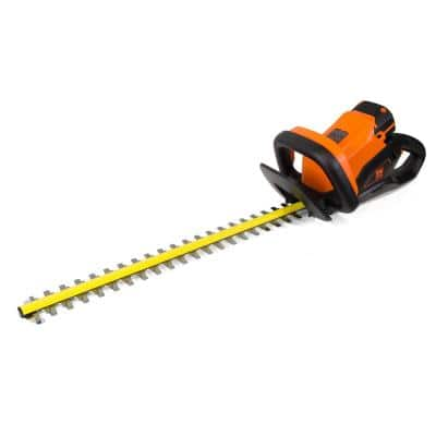 40-Volt Max Lithium-Ion 24 in. Cordless Hedge Trimmer with 2Ah Battery and Charger