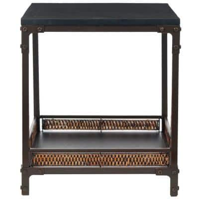 Dinesh Black End Table