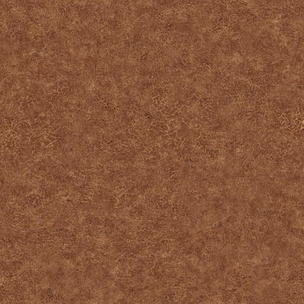 Seabrook Designs Roma Leather Timber Tawny Vinyl Strippable Roll Covers 60 75 Sq Ft Bv30606 The Home Depot
