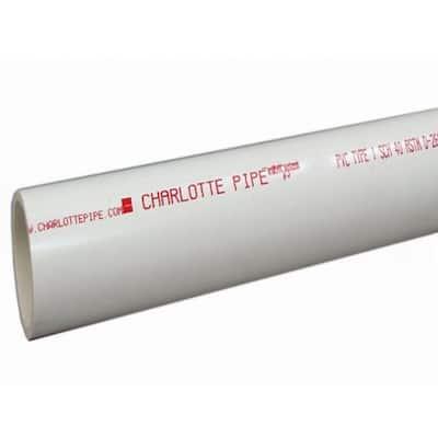 1/2 in. x 2 ft. PVC Schedule 40 Pressure Plain End Pipe