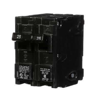 25 Amp Double-Pole Type QP Circuit Breaker