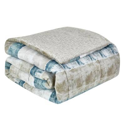 Raphael Steel Comforter Set
