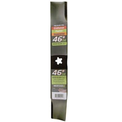Mower Blade for 46 in. Cut Craftsman, Husqvarna, Poulan Mowers Replaces OEM # 532152443, 532163819, 532145708, 532152443