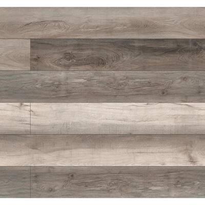 Woodland Mave 7.13 in. W x 48.03 in. L Rigid Core Click Lock Luxury Vinyl Plank Flooring (23.77 sq. ft./case)