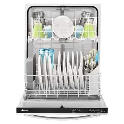 24 in. Stainless Steel Top Control Built-In Tall Tub Dishwasher, 55 dBA