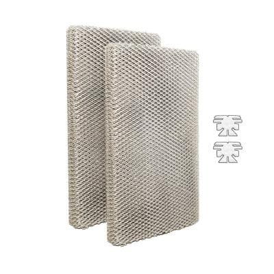 Replacement Evaporator Pad Filter with Wick to fit Skuttle A04-1725-051, 2001, 2101, 2002, 2102 Humidifiers (2-Pack)